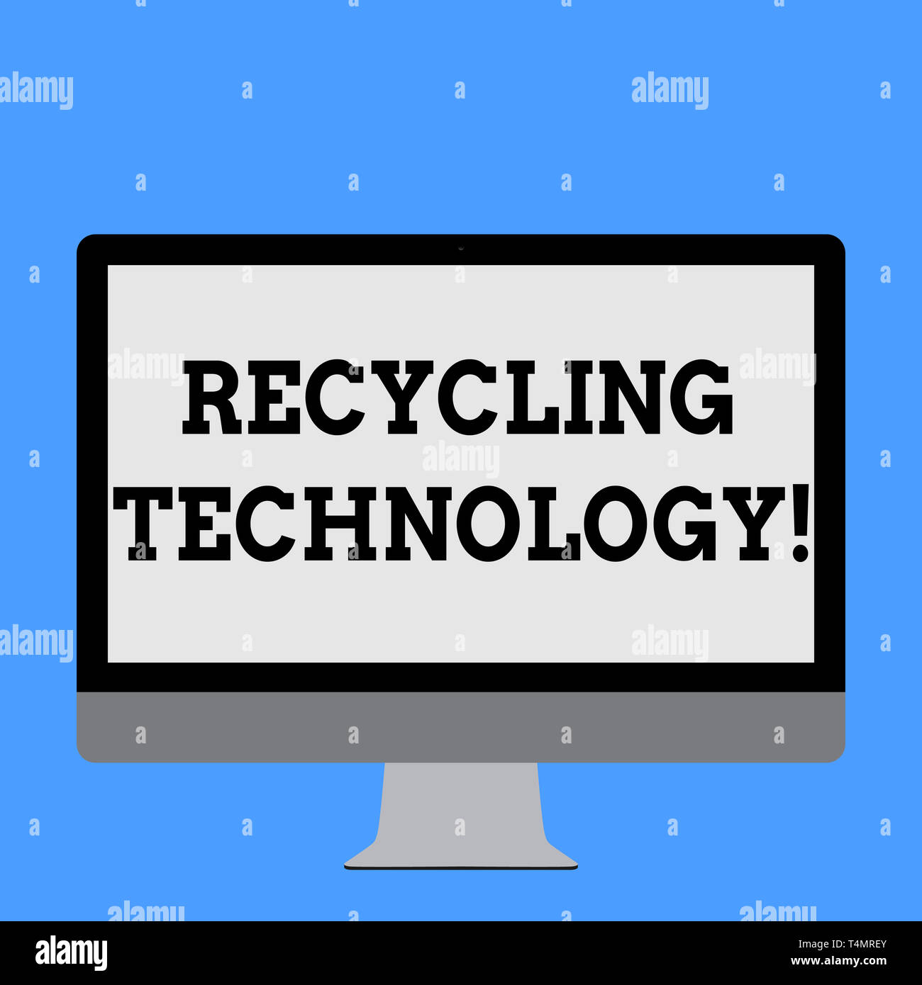 Word writing text Recycling Technology  Business photo showcasing