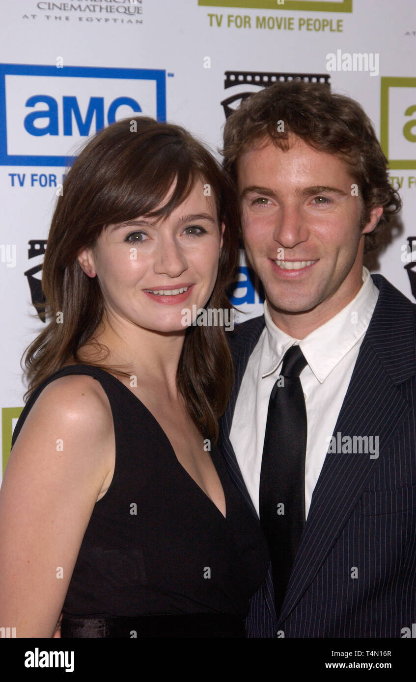 Actress Emily Mortimer With Her Husband Alessandro Nivola