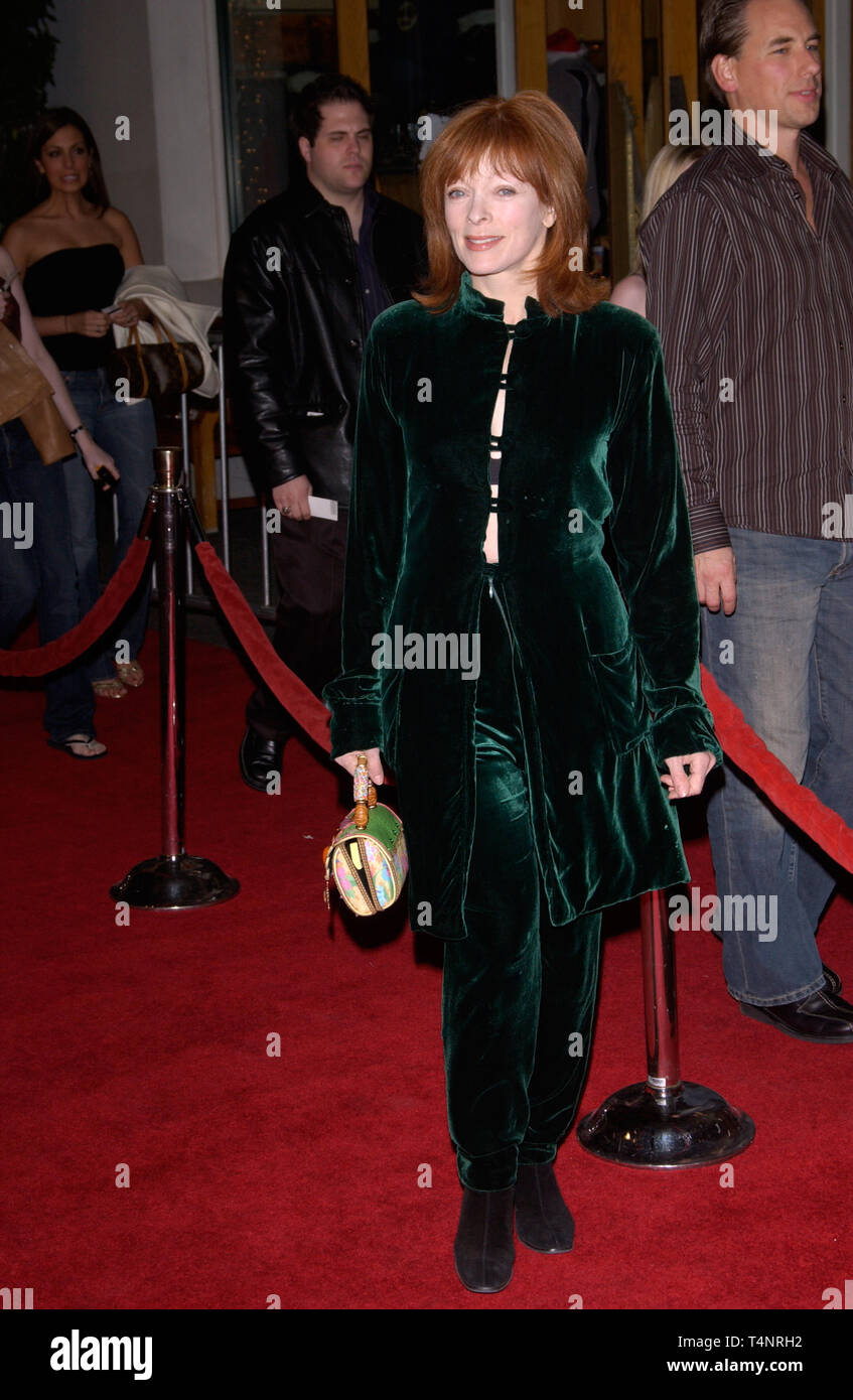 LOS ANGELES, CA. December 16, 2004:  Actress FRANCES FISHER at the Los Angeles premiere of Meet the Fockers. - Stock Image