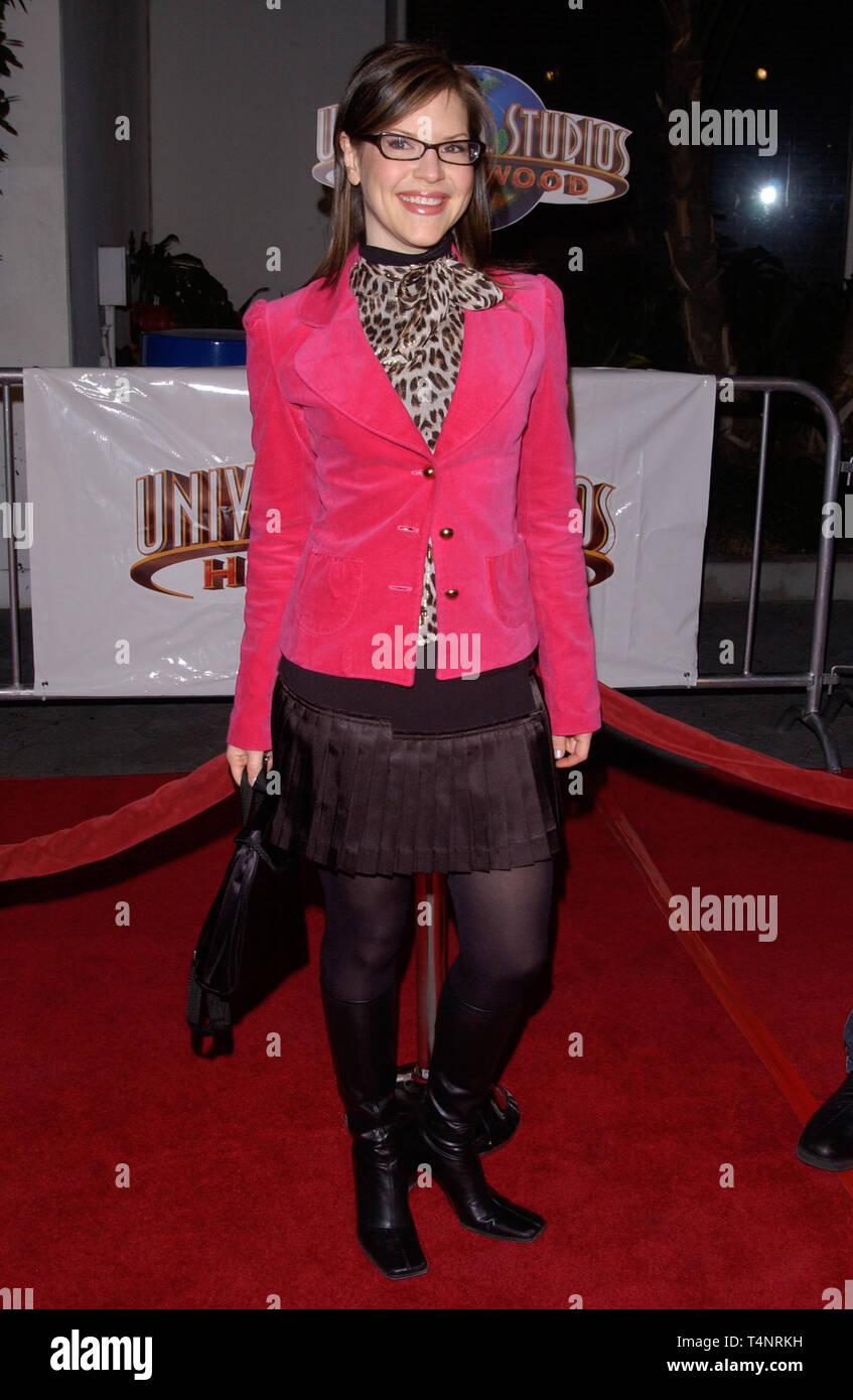 LOS ANGELES, CA. December 16, 2004:  Singer LISA LOEB at the Los Angeles premiere of Meet the Fockers. - Stock Image