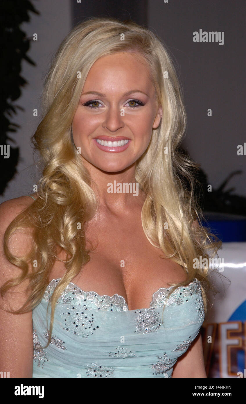 LOS ANGELES, CA. December 16, 2004:  Actress KATIE LOHMANN at the Los Angeles premiere of Meet the Fockers. - Stock Image