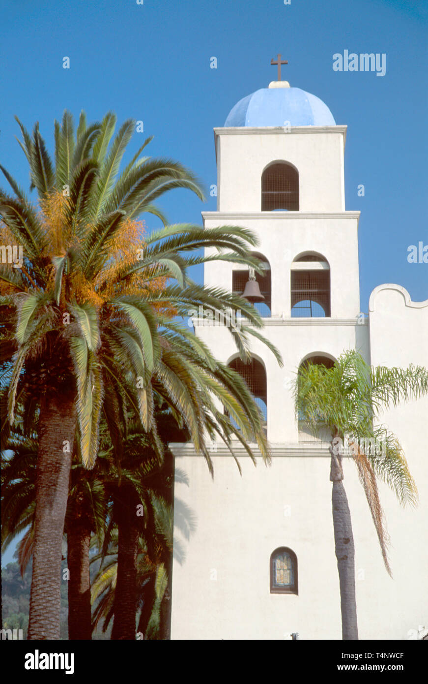 California San Diego Old Town Immaculate Conception Church - Stock Image