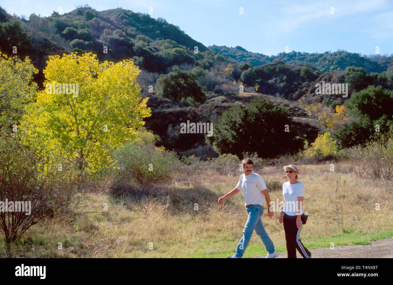 California Santa Clarita Stock Photo