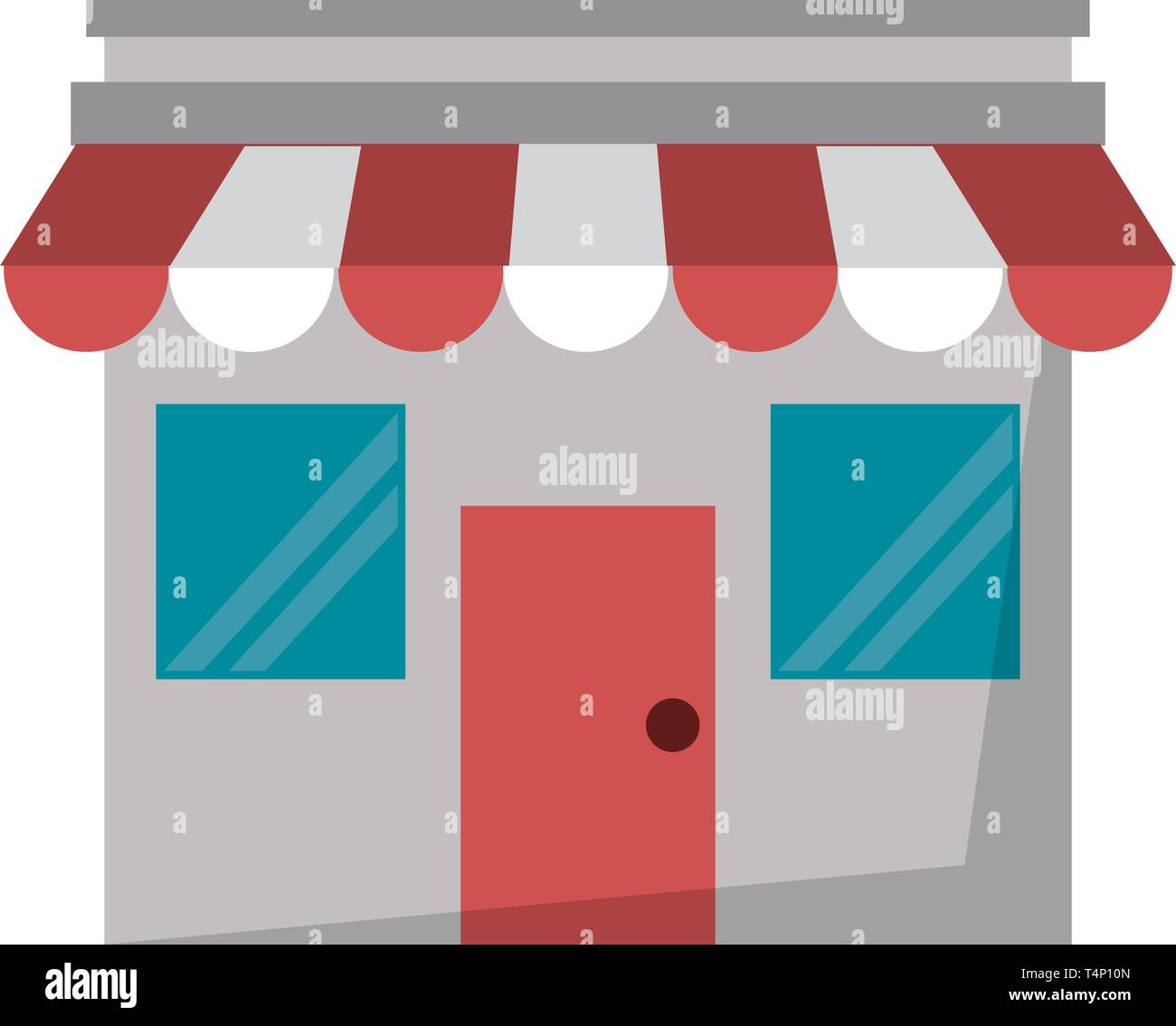 Store bussiness ecommerce isolated - Stock Vector