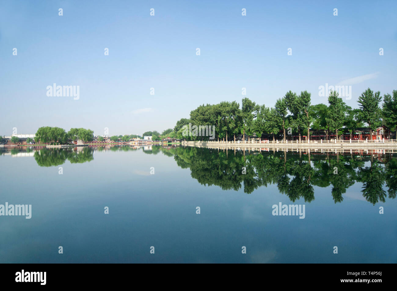 Beijing shichahai scenery Stock Photo