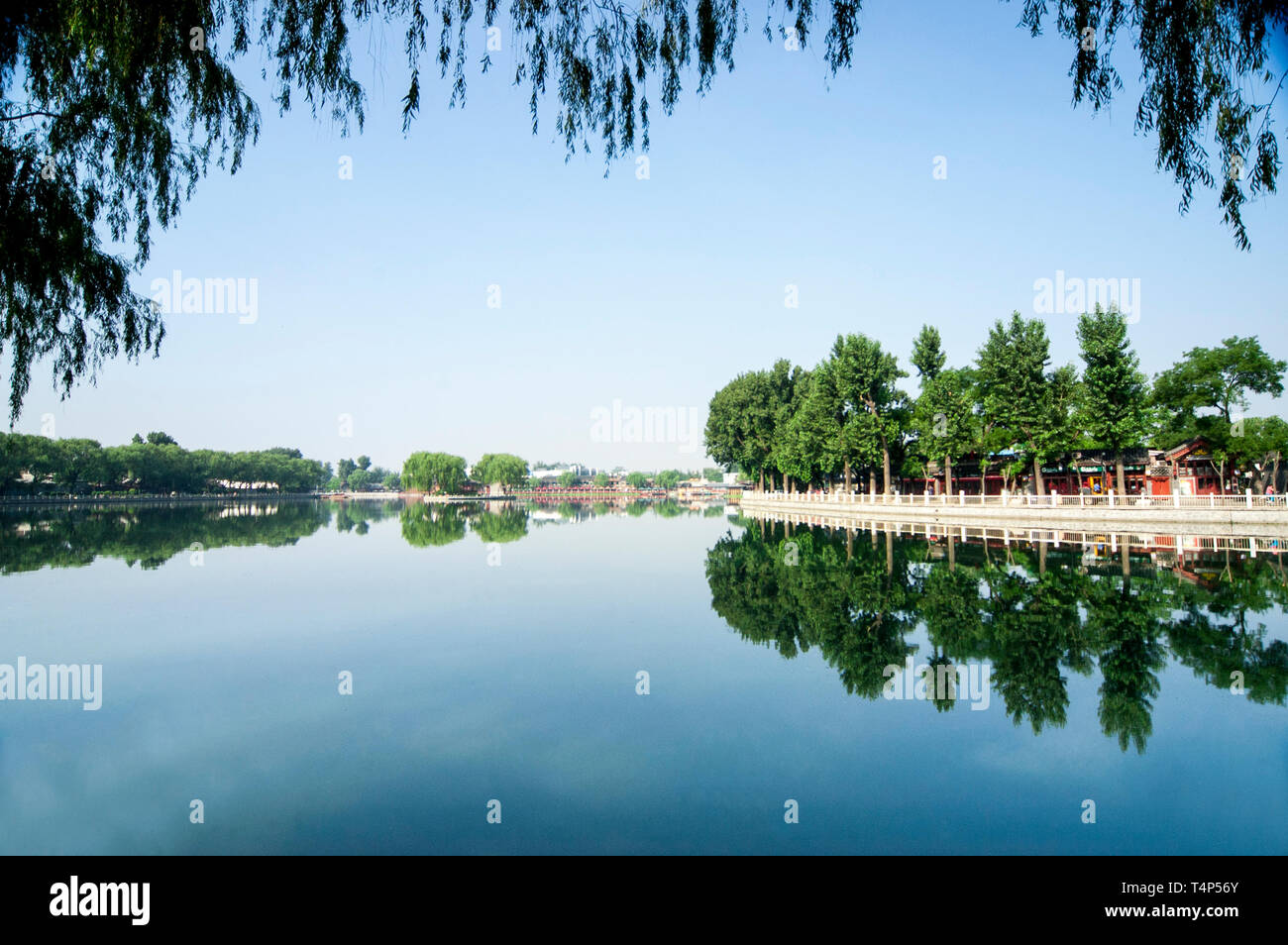 Beijing shichahai scenery - Stock Image
