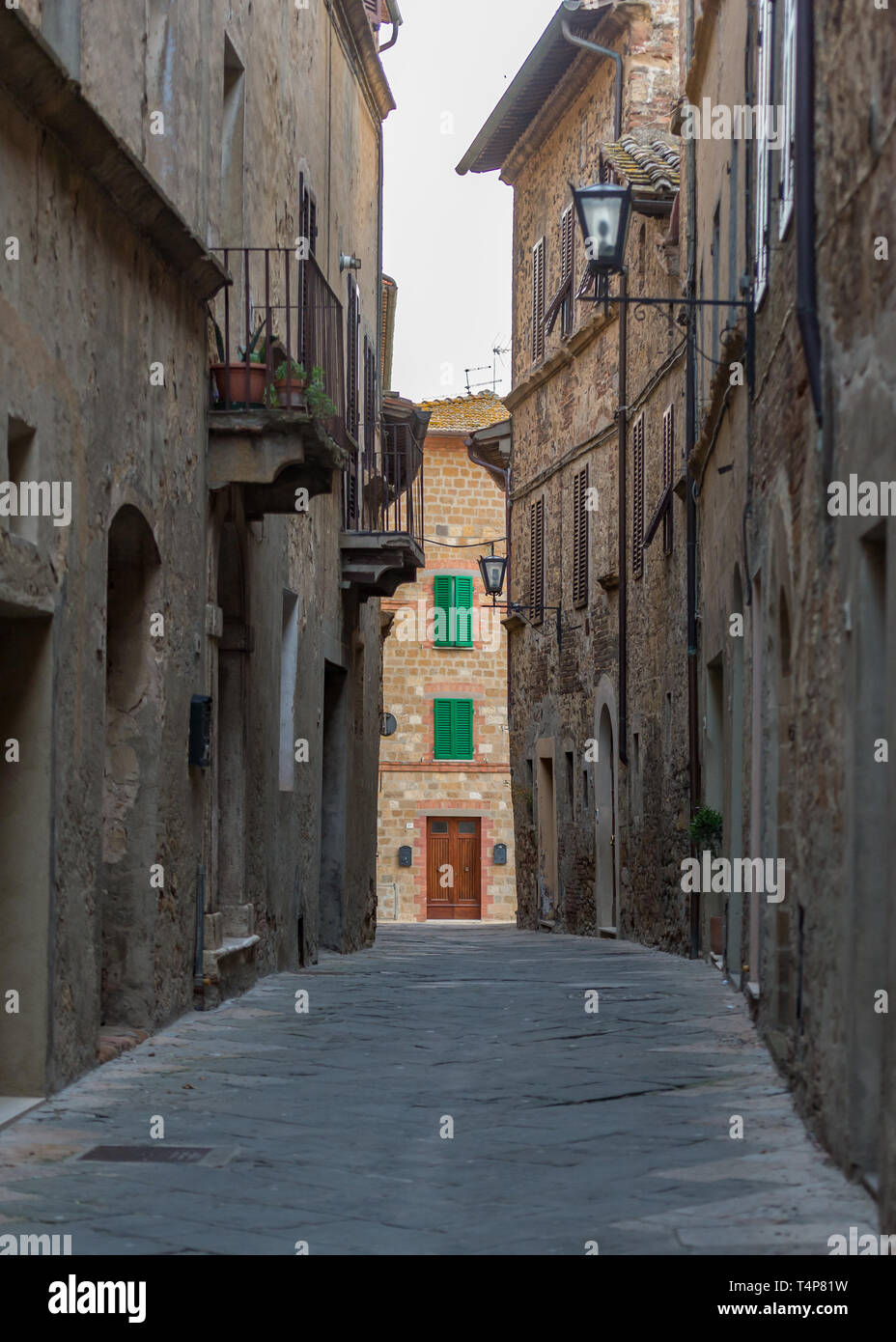 View of Tuscany, Italy - Stock Image