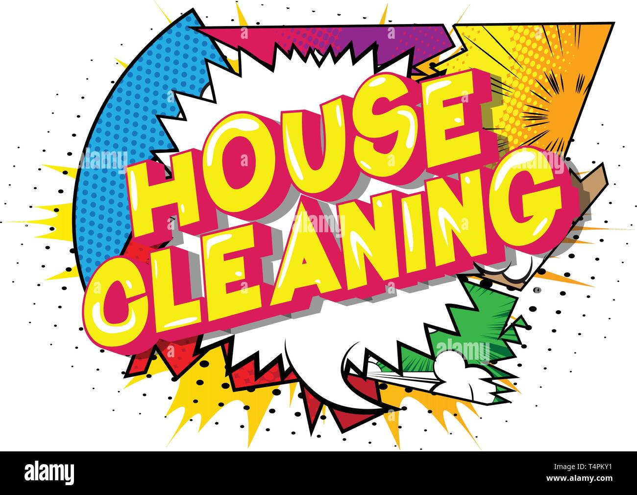 Brilliant House Cleaning Supplies Cartoon Stock Photos House Home Remodeling Inspirations Basidirectenergyitoicom