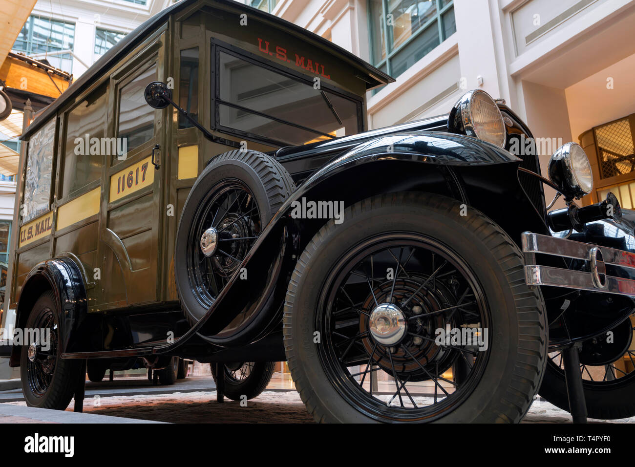 1931 Ford Model A Mail Truck - Stock Image