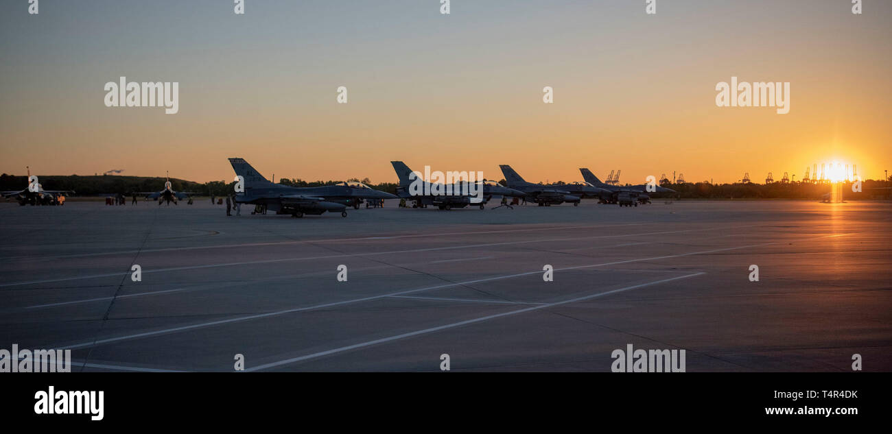 187th Fighter Wing Participates in Sentry Savannah 19-2