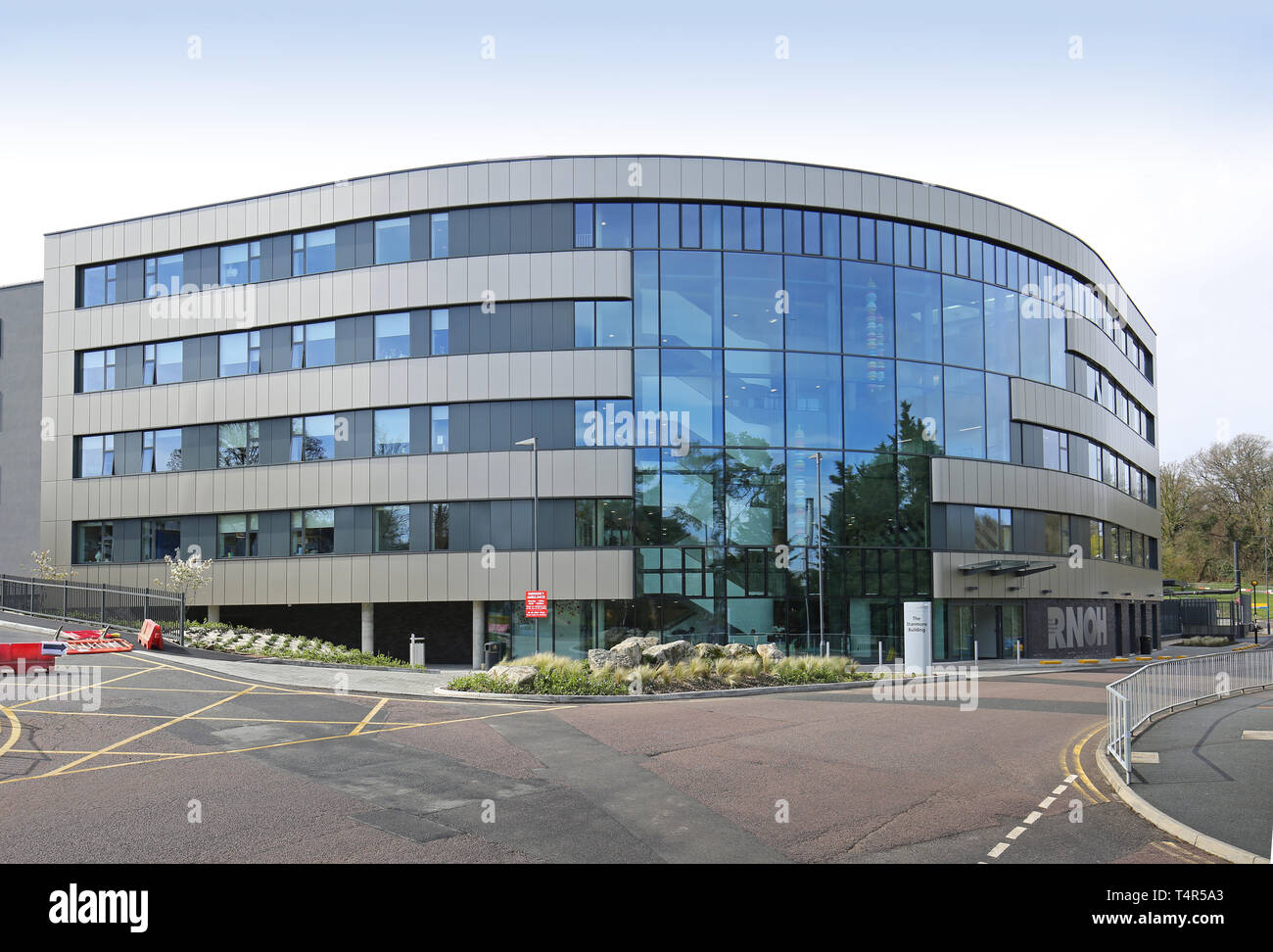 Exterior of the new Stanmore Building at the Royal National Orthopaedic Hospital in Stanmore, north London, UK - Stock Image