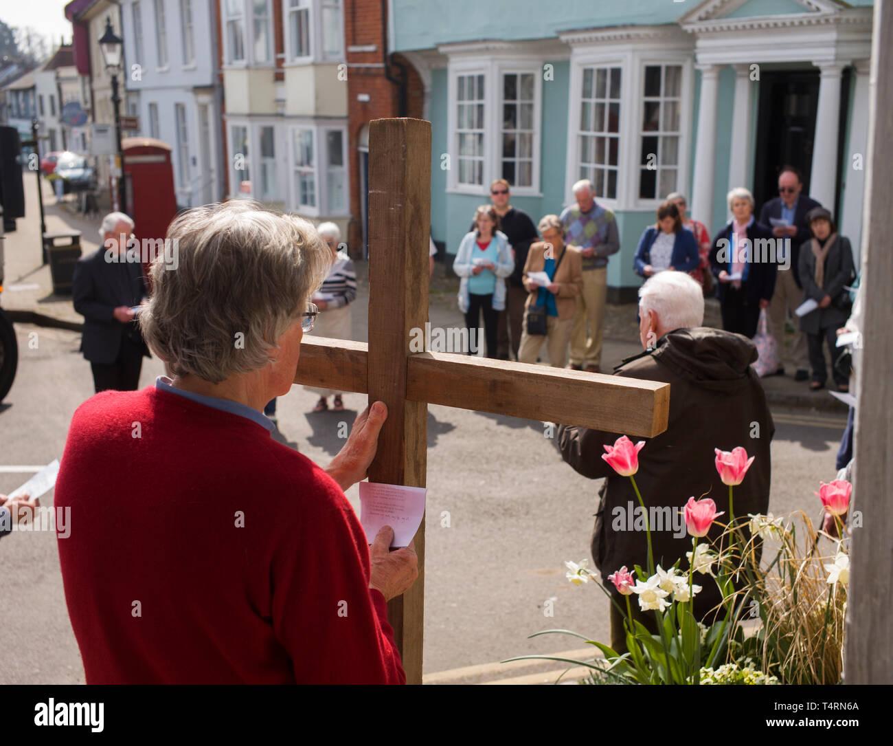 Good Friday Catholic Service Stock Photos & Good Friday Catholic
