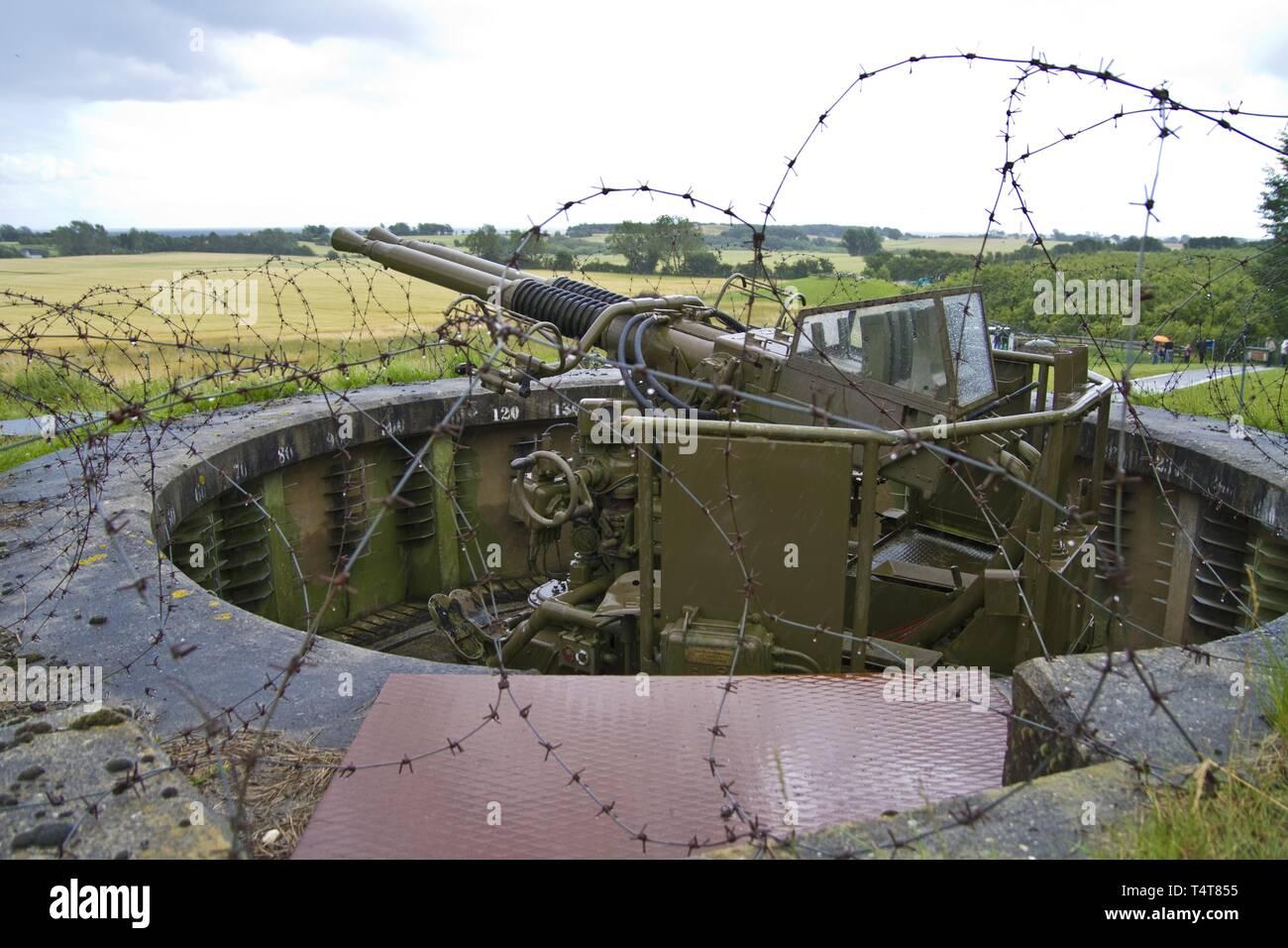 Military Base Ringkøbing, Denmark, Europe - Stock Image