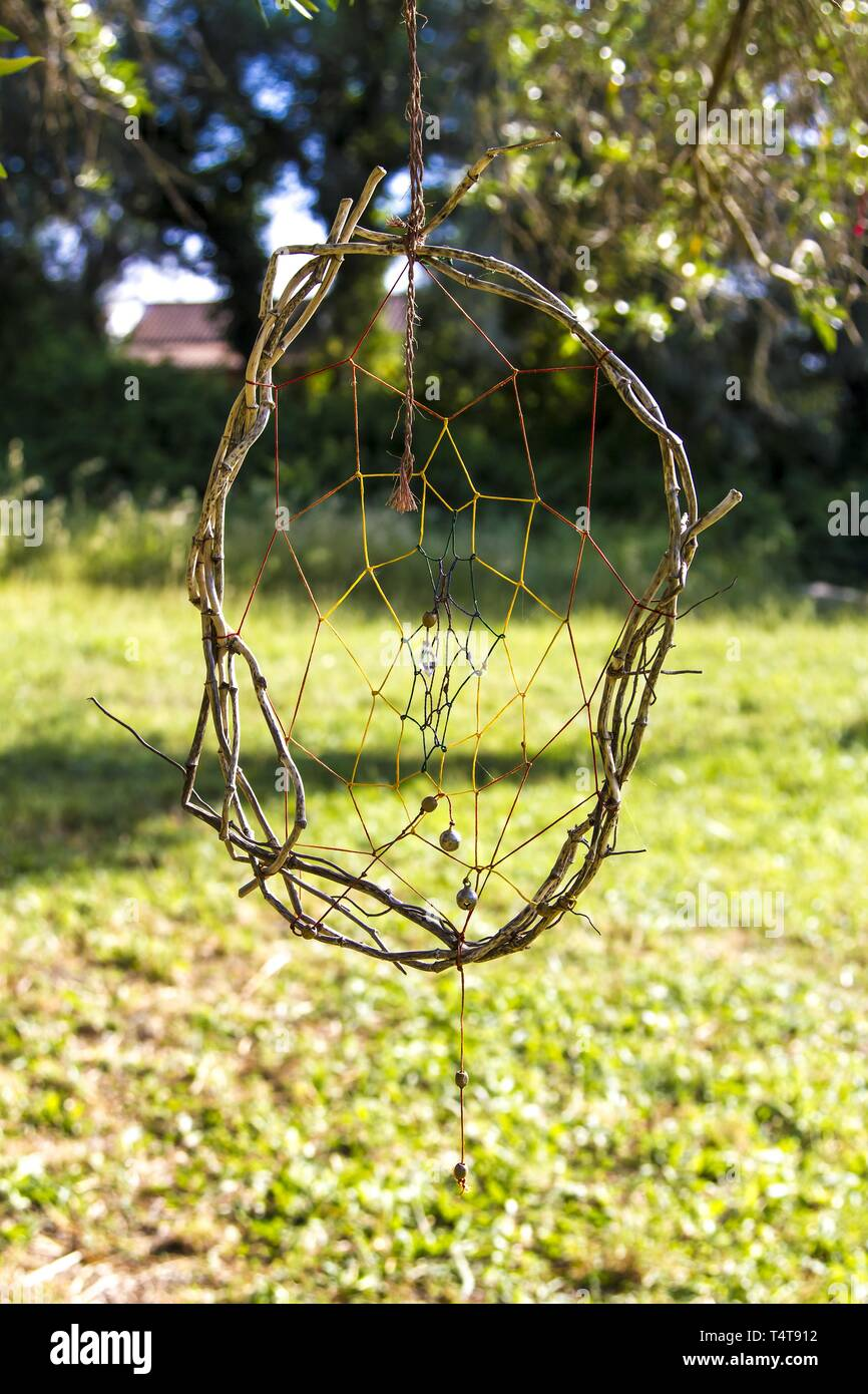 Dreamcatcher, Corfu, Greece, Europe - Stock Image