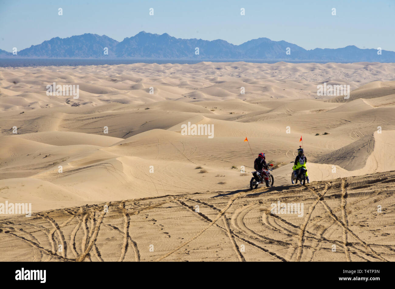 Imperial Sand Dunes, California Stock Photo   Alamy
