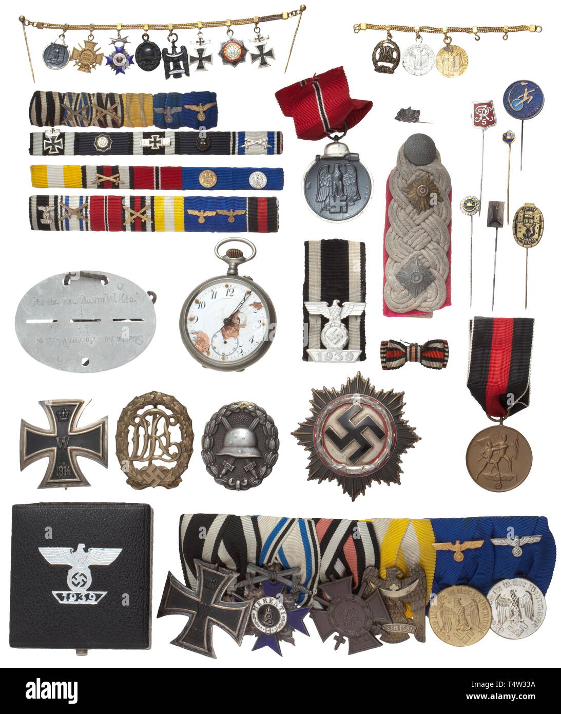 Oberst i  G  Curt Pollex - a German Cross in Silver as well as the