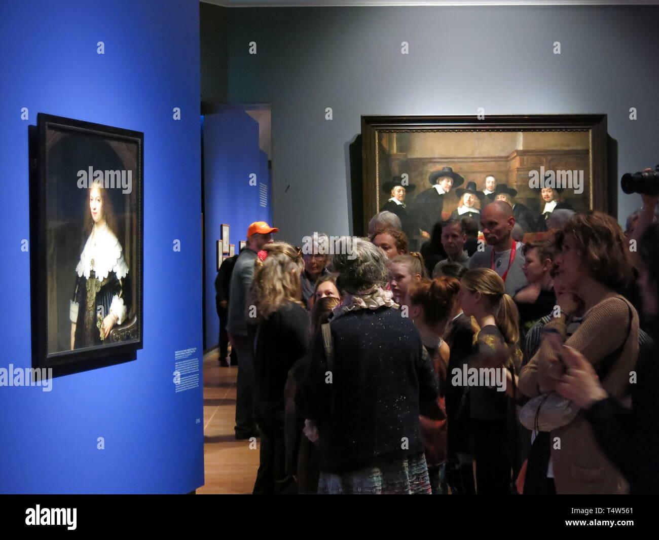 Rembrandt Exhibition Stock Photos & Rembrandt Exhibition Stock