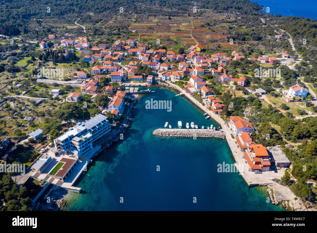 Božava, island Dugi otok, Croatia Stock Photo