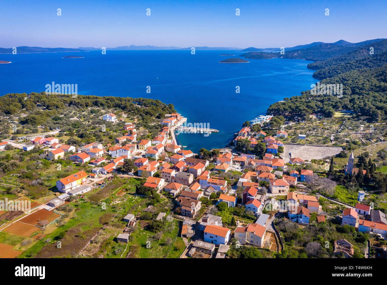 Božava, island Dugi otok, Croatia Stock Photo