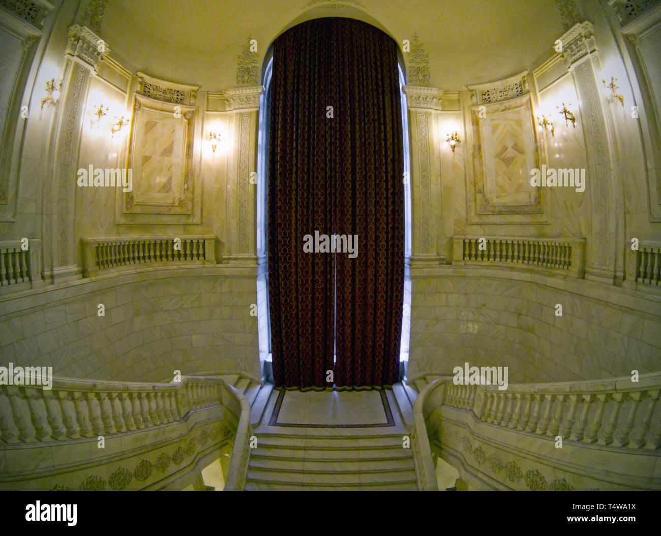 The Romanian Parliament Stock Photo