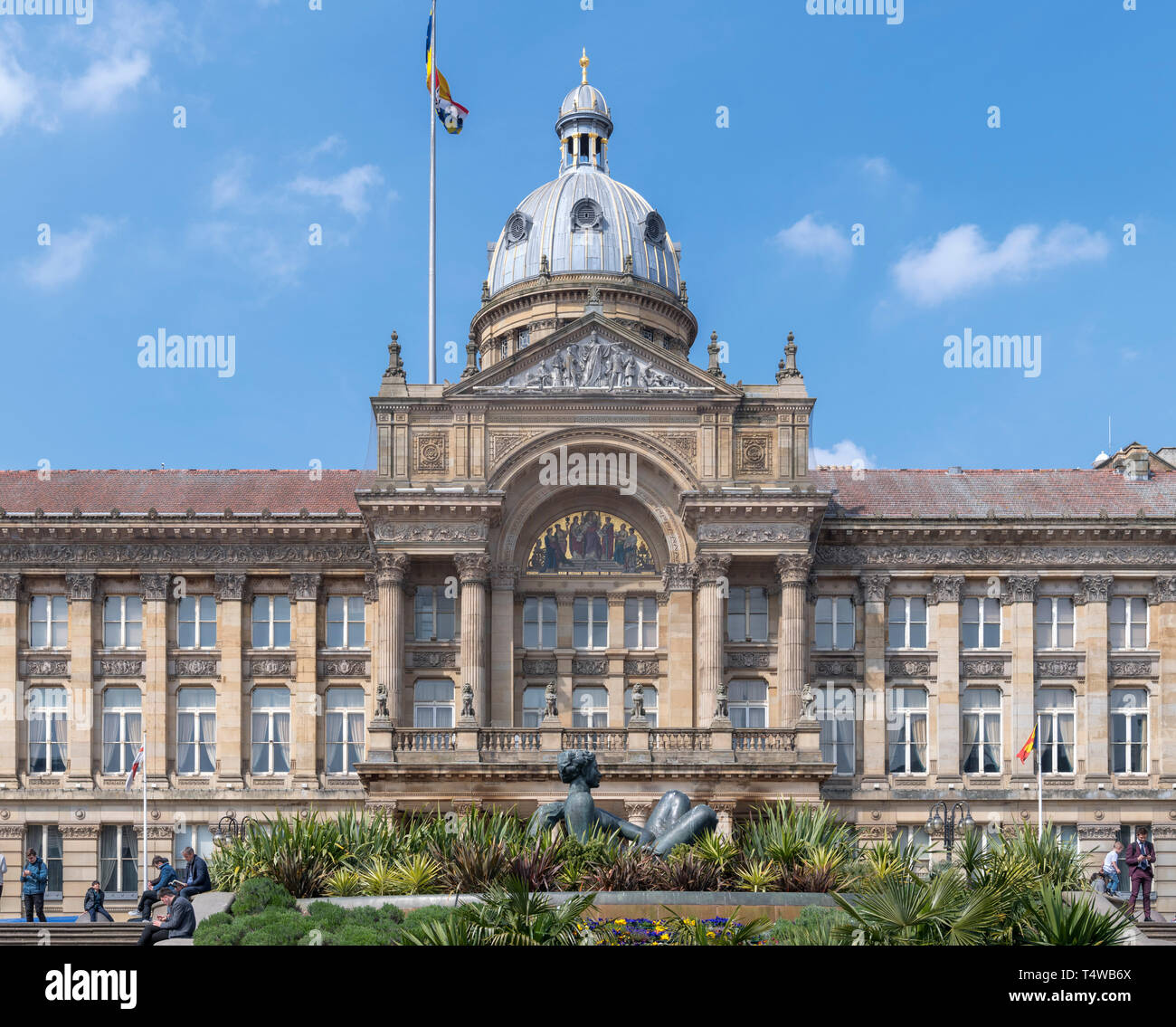 Birmingham City Council House, the seat of local government on Victoria Square, Birmingham, West Midlands, England, UK - Stock Image