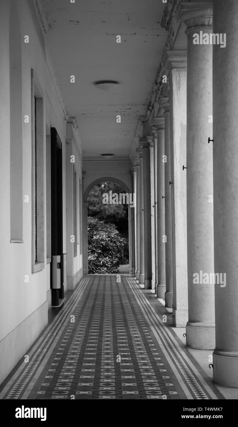 Accademia di Architettura in Mendrisio Stock Photo