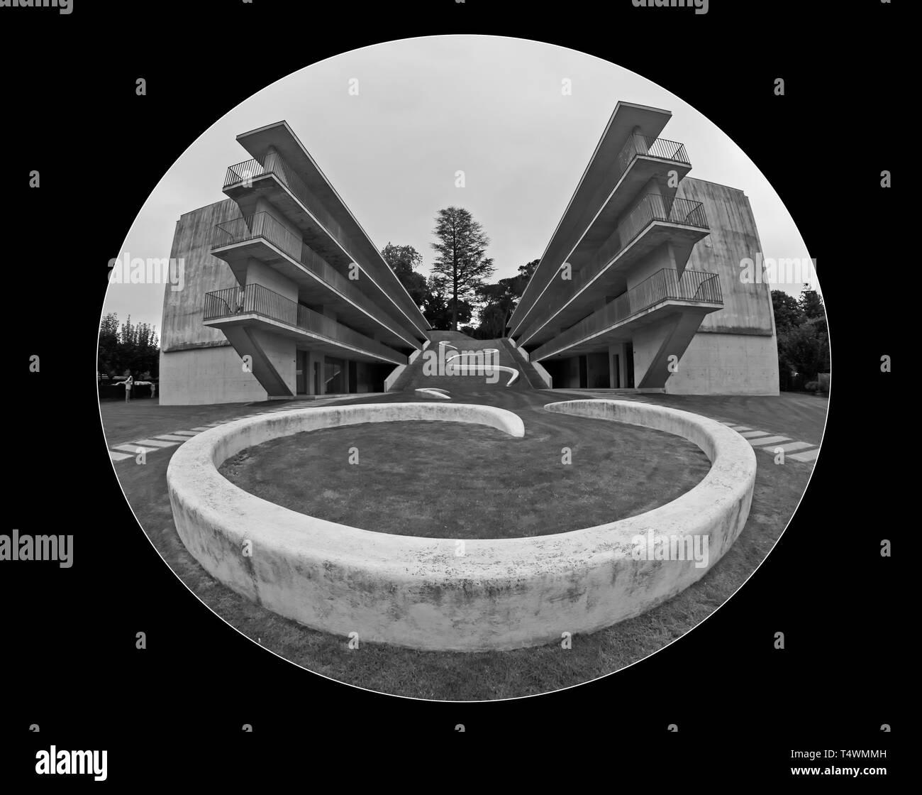 Accademia di Architettura di Mendrisio Stock Photo