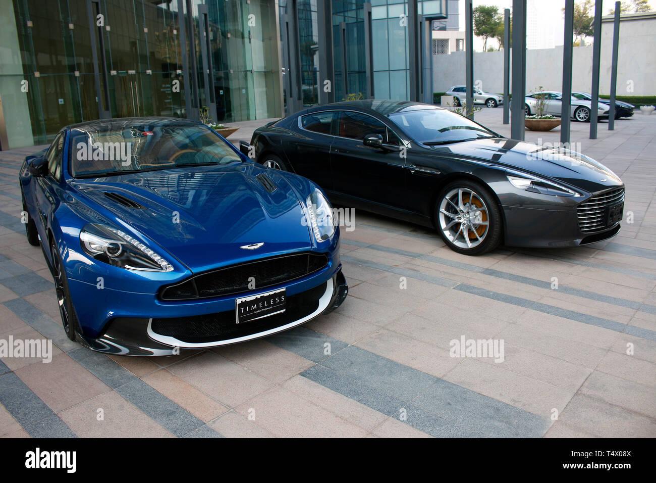 Aston Martin Dubai Stock Photo Alamy