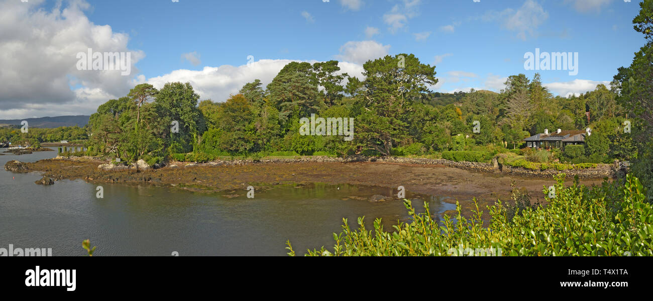 Shore by Bamboo Park Glengarriff Harbour - Stock Image