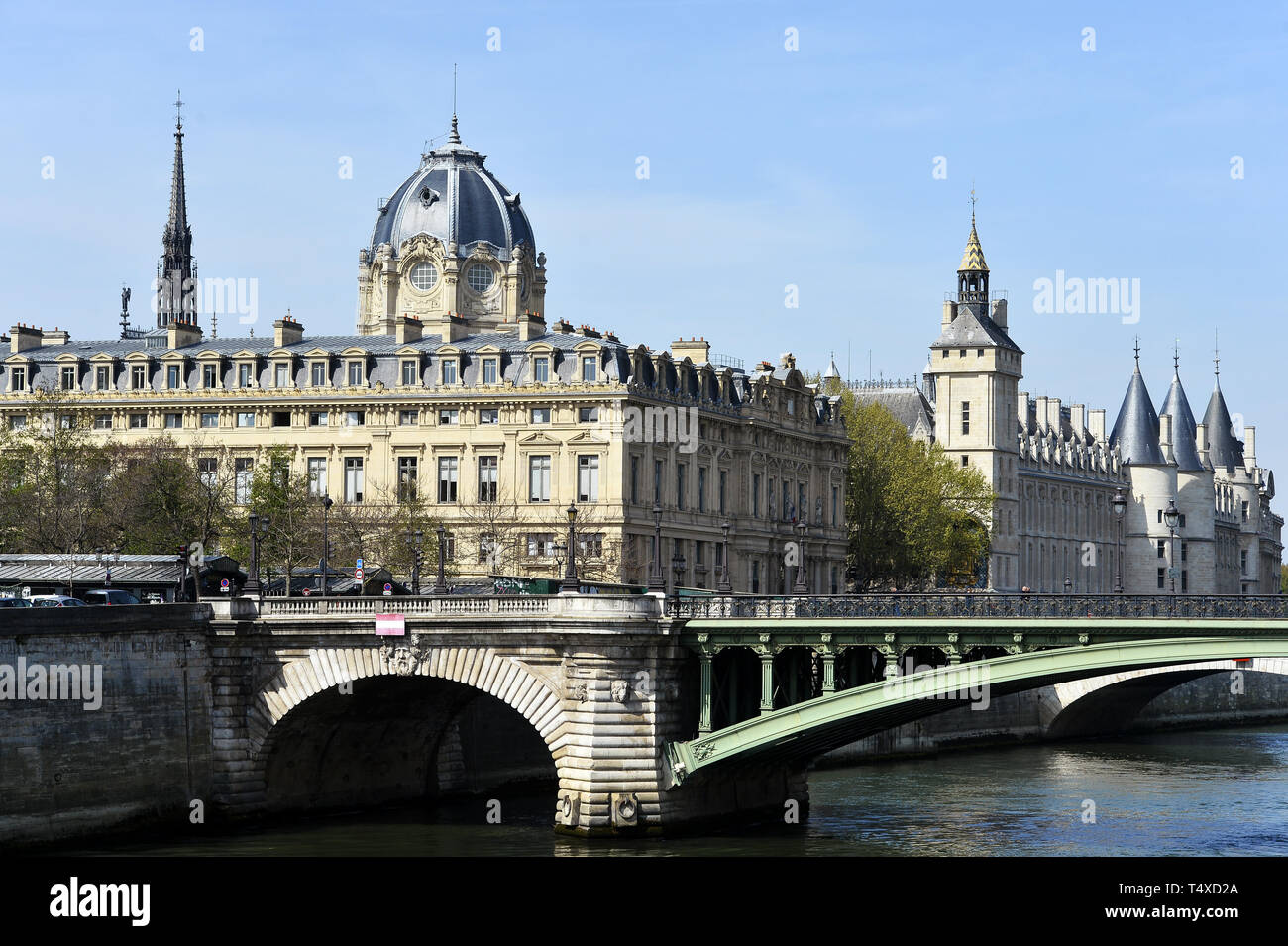 Commercial Court of Paris - Paris - France - Stock Image