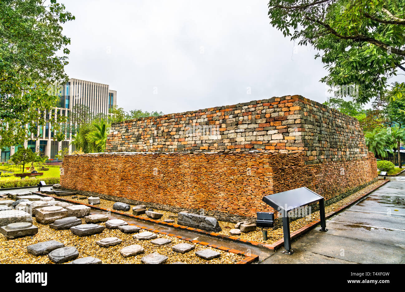 Imperial Citadel of Thang Long in Hanoi, Vietnam Stock Photo