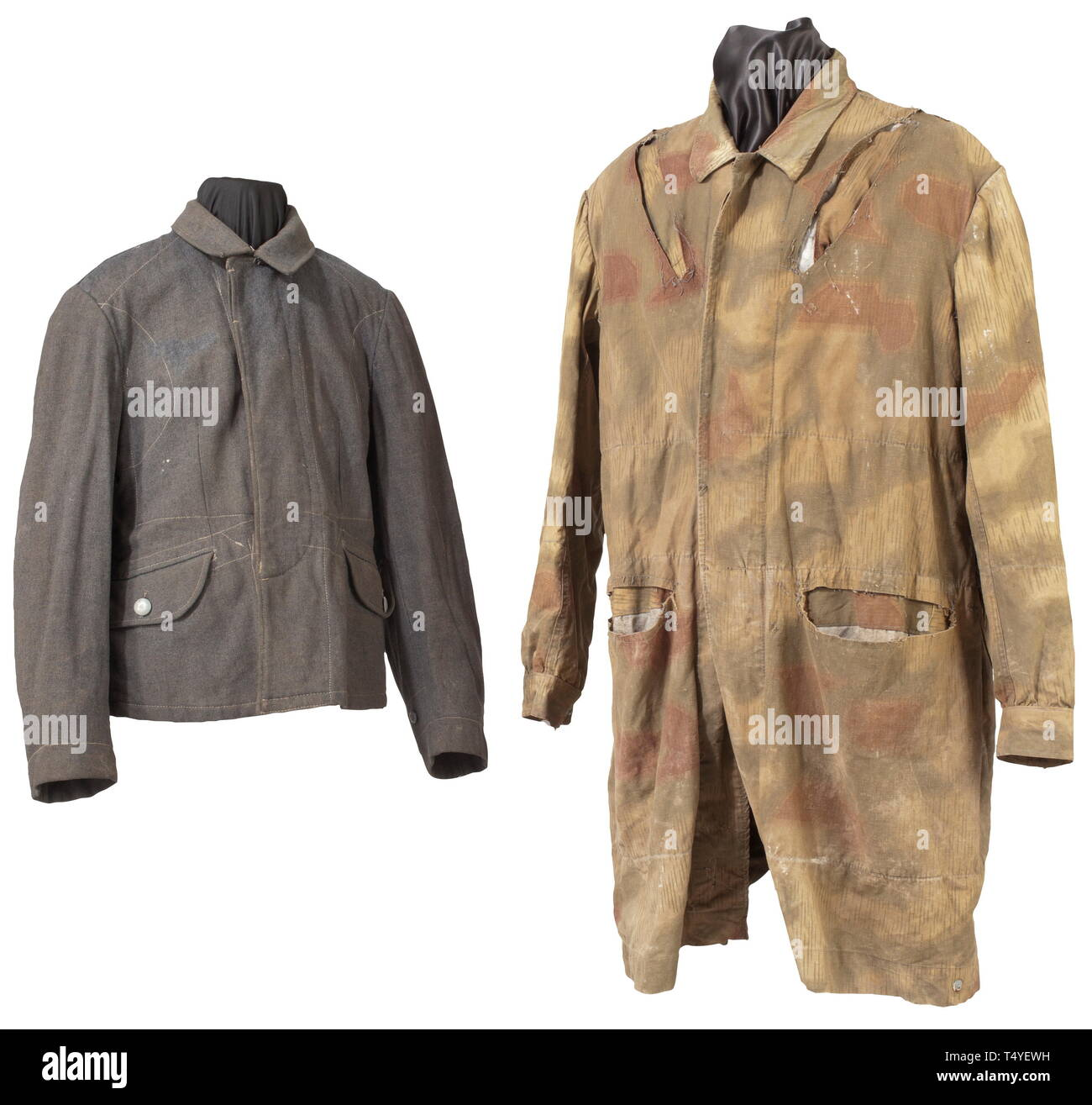 42dbc32fbe299a A paratrooper's jump smock, a so-called 'Knochensack' in 'Sumpftarn'