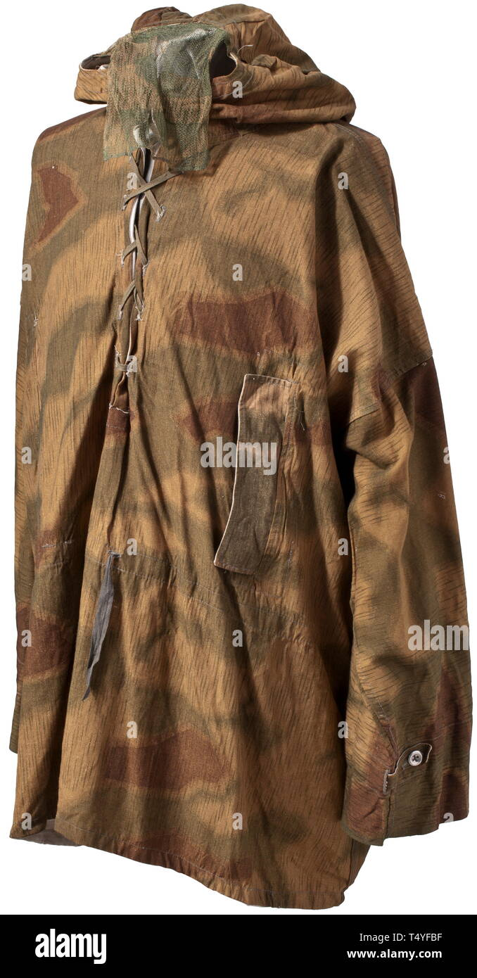 2e8a24d2a0584 A reversible camouflage shirt for snipers. Depot piece, circa 1943. The  exterior in