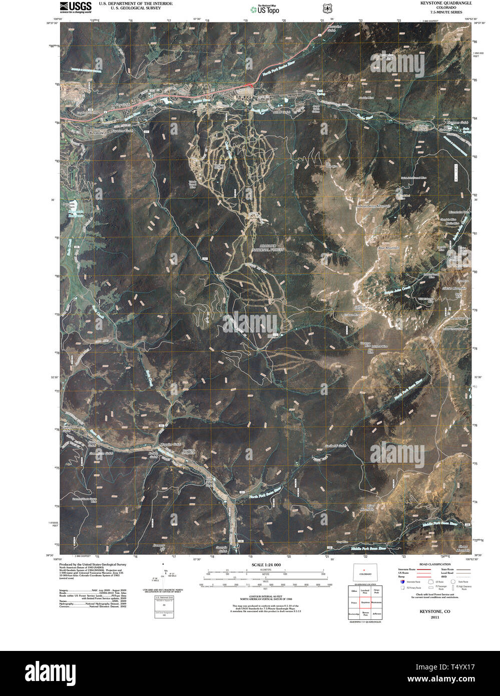 on keystone map