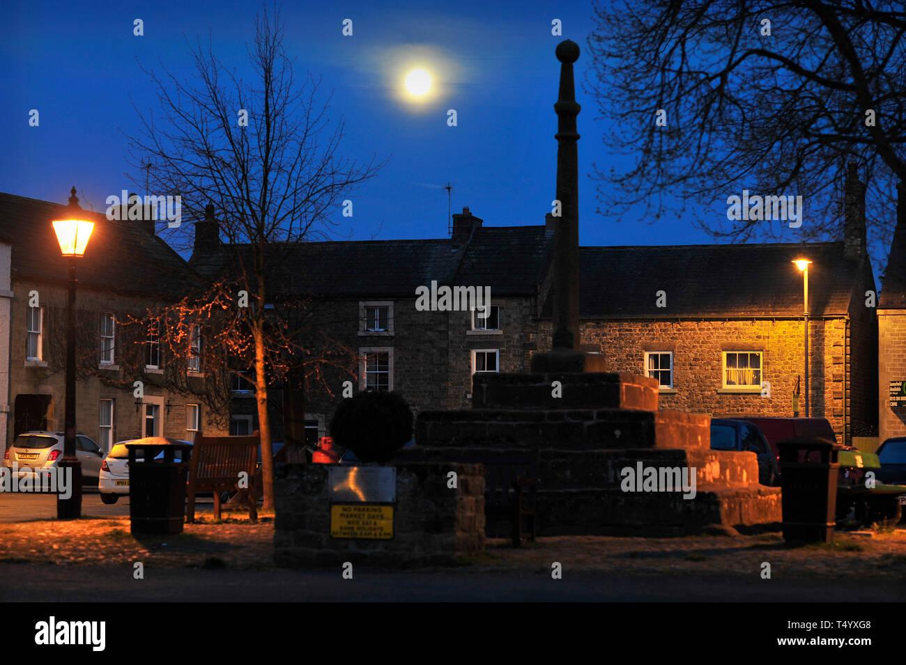 Market Square Masham North Yorkshire England UK - Stock Image