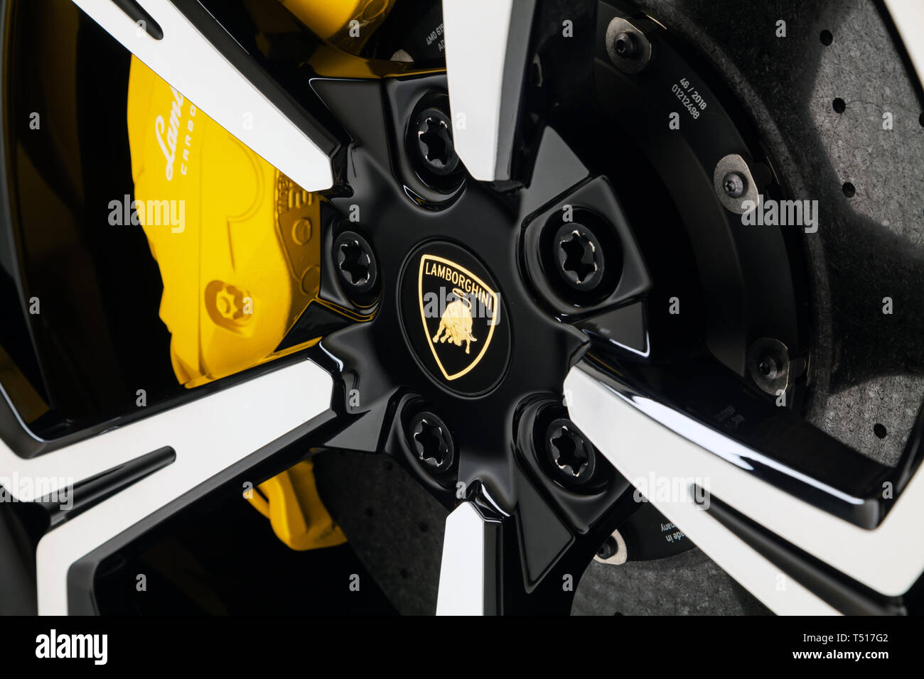 2019 Lamborghini Urus Stock Photo: 244046322 - Alamy