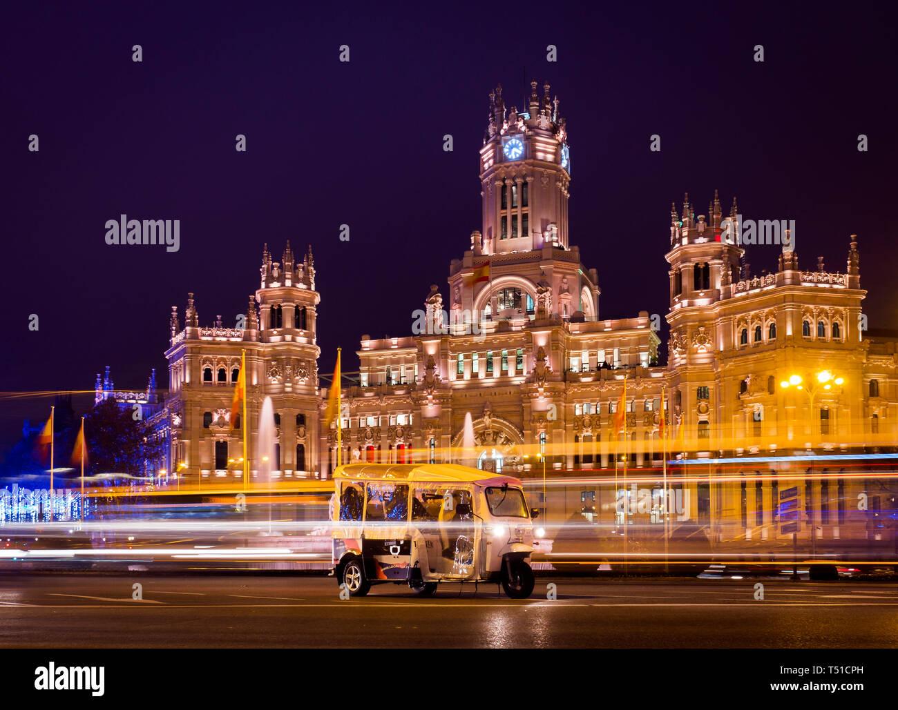 Palacio De Las Comunicaciones O Ayuntamiento De Madrid