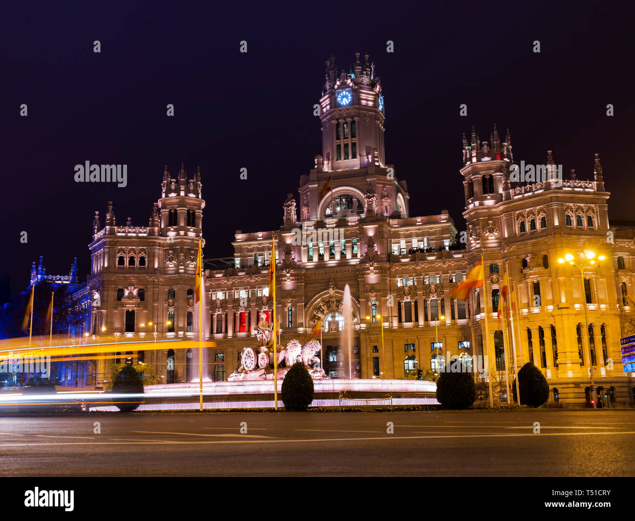 Ayuntamiento De Madrid Palacio De Las Comunicaciones
