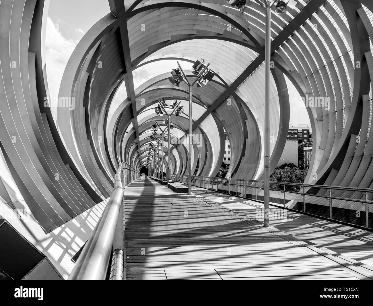 Puente de Arganzuela. Madrid. España. Stock Photo