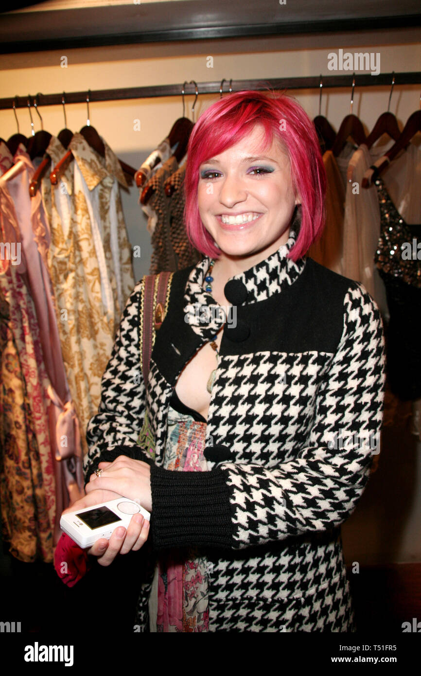 New York, USA. 21 Mar, 2007.  Dominick Urso at The first anniversary of Emmett McCarthy's EMc2 SoHo store at EMc2 on March 21, 2007 in New York, NY. Credit: Steve Mack/S.D. Mack Pictures/Alamy Stock Photo