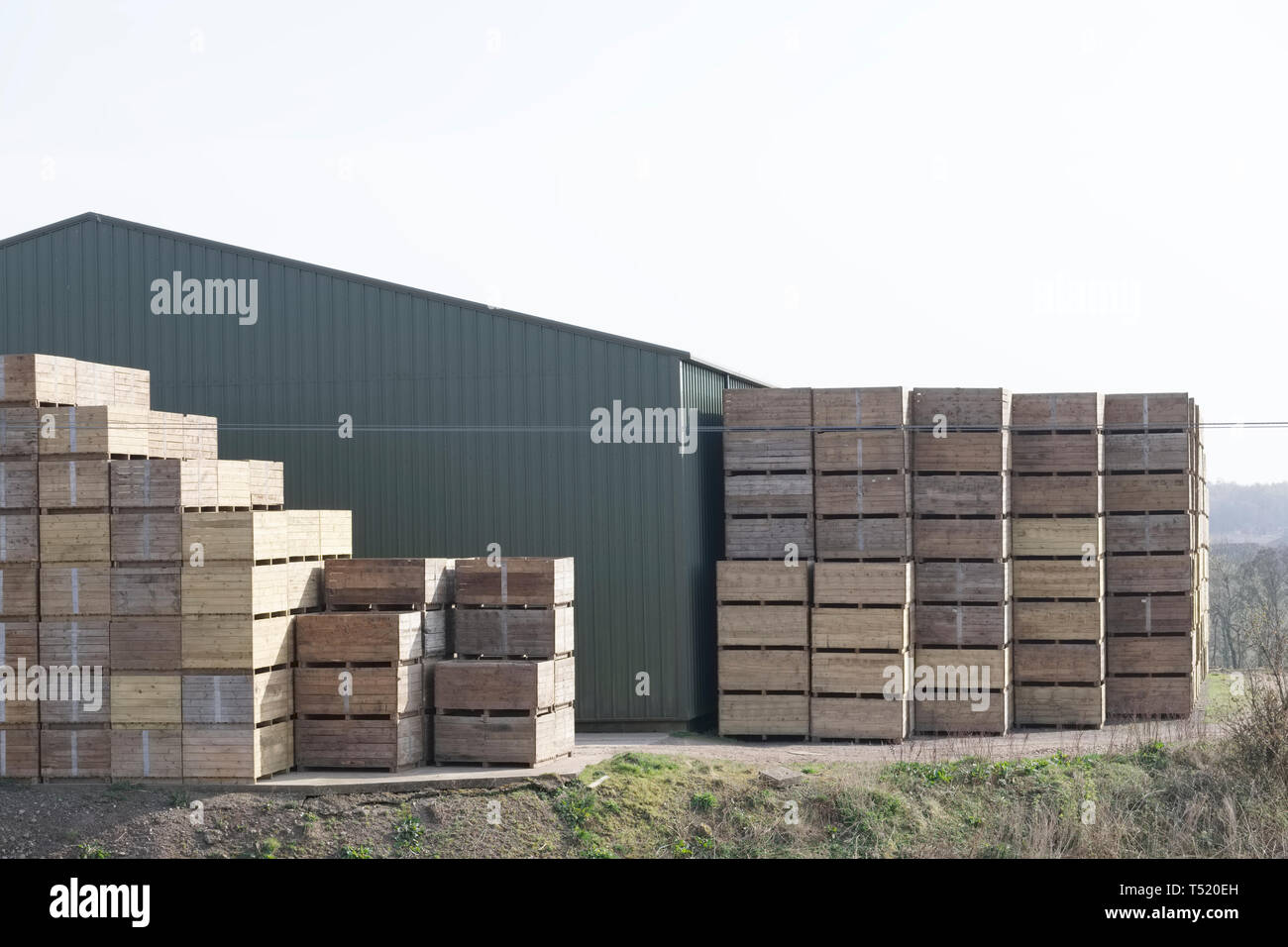 Factory Shed Stock Photos Amp Factory Shed Stock Images Alamy