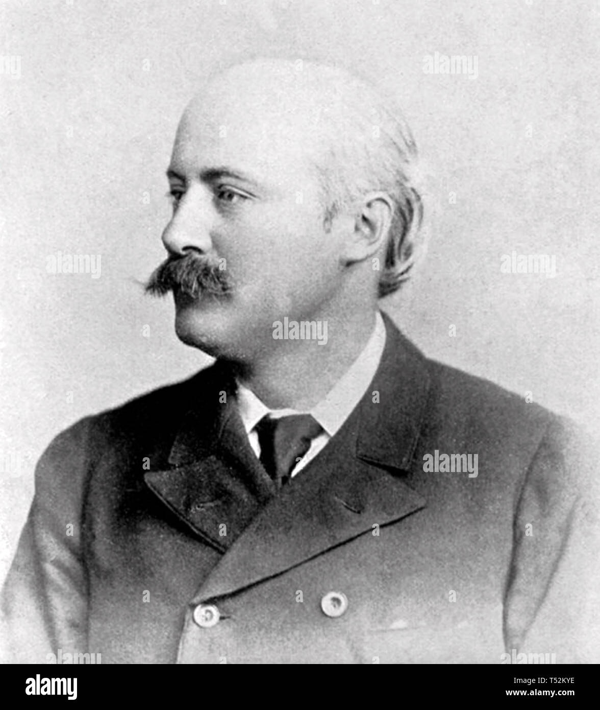 HUBERT PARRY (1848-1918) English composer - Stock Image