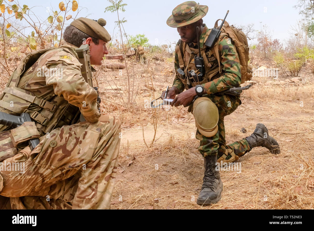 Nigerian Soldiers Stock Photos & Nigerian Soldiers Stock