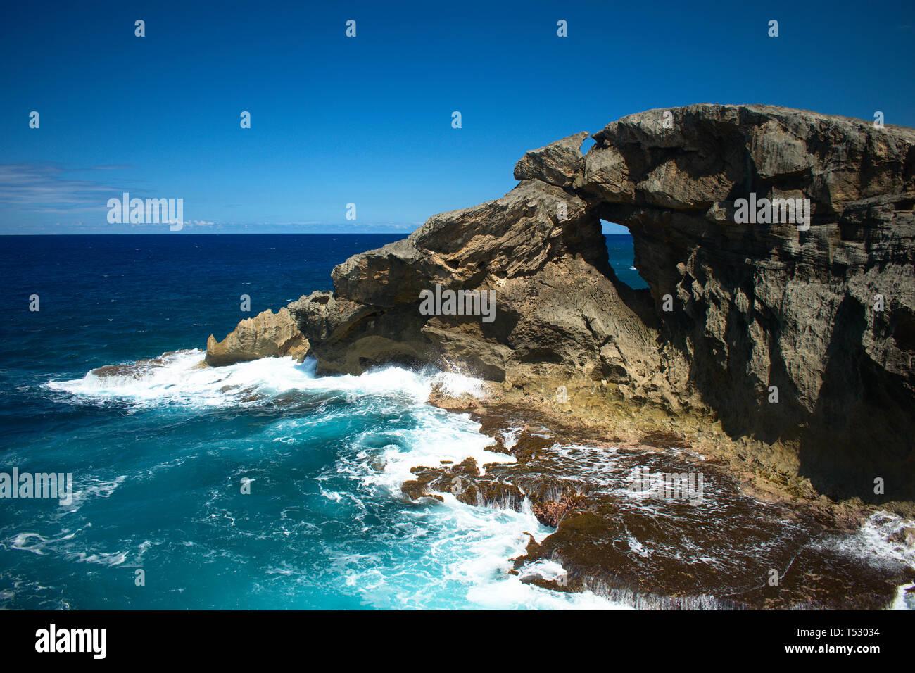 Arecibo Coast, Puerto Rico - Stock Image