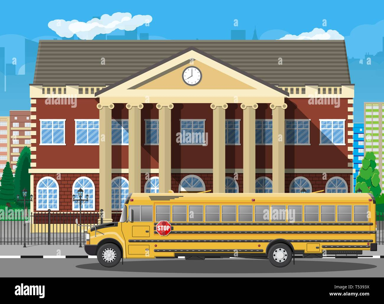 Brown Building With Ornate Windows, Multiple Storeys With ...  |Brown University Building Cartoon