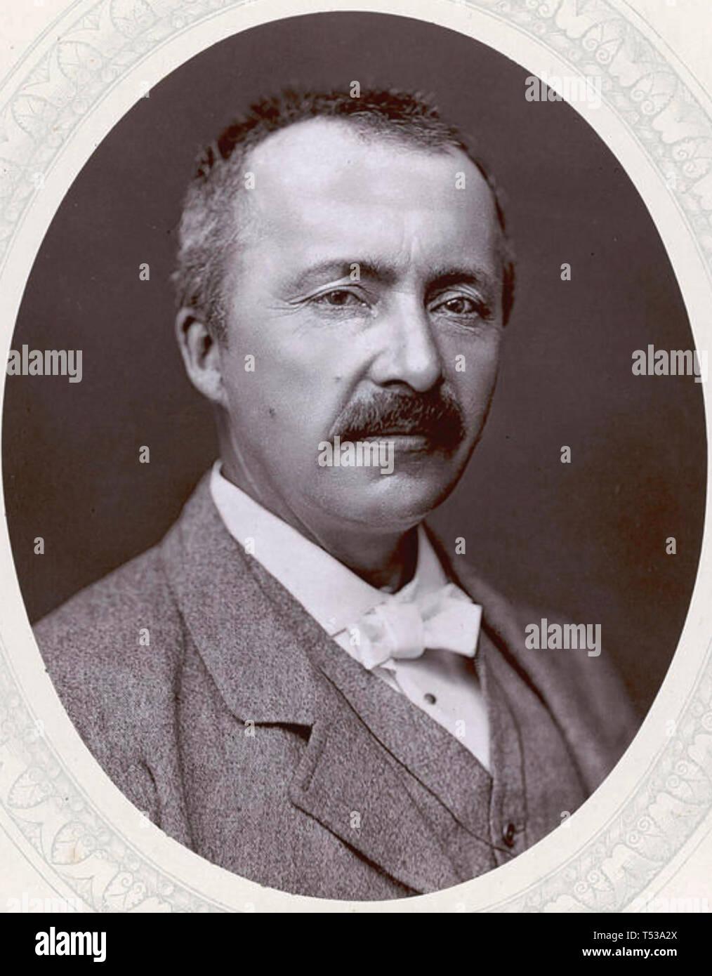 HEINRICH SCHLIEMANN (1822-1890) German archeologist - Stock Image