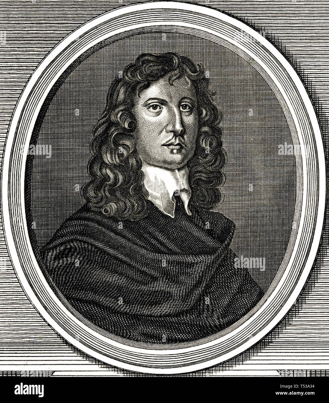 JAMES HARRINGTON (1611-1677) English political theorist - Stock Image