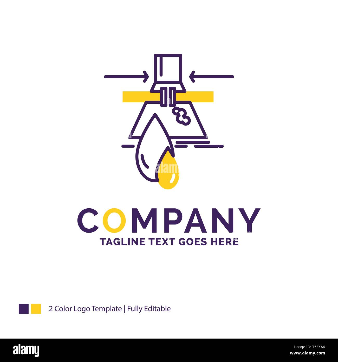 Company Name Logo Design For Chemical, Leak, Detection, Factory