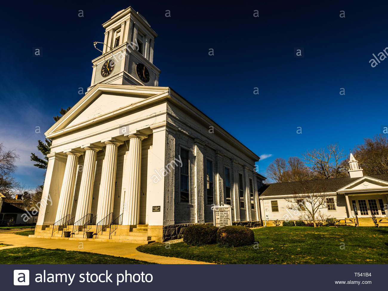 First Church of Christ Old Saybrook South Green  Old Saybrook, Connecticut, USA Stock Photo