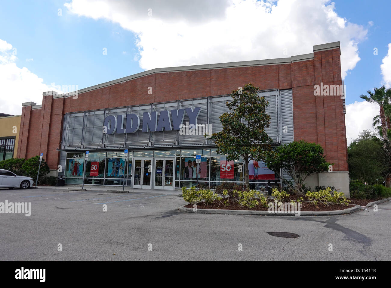 Orlando, FL/United States - 04/18/2019: Old Navy is an American clothing and accessories retailing company owned by American multinational corporation. Stock Photo